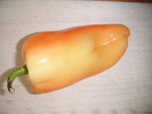 Žlutooranžová paprika